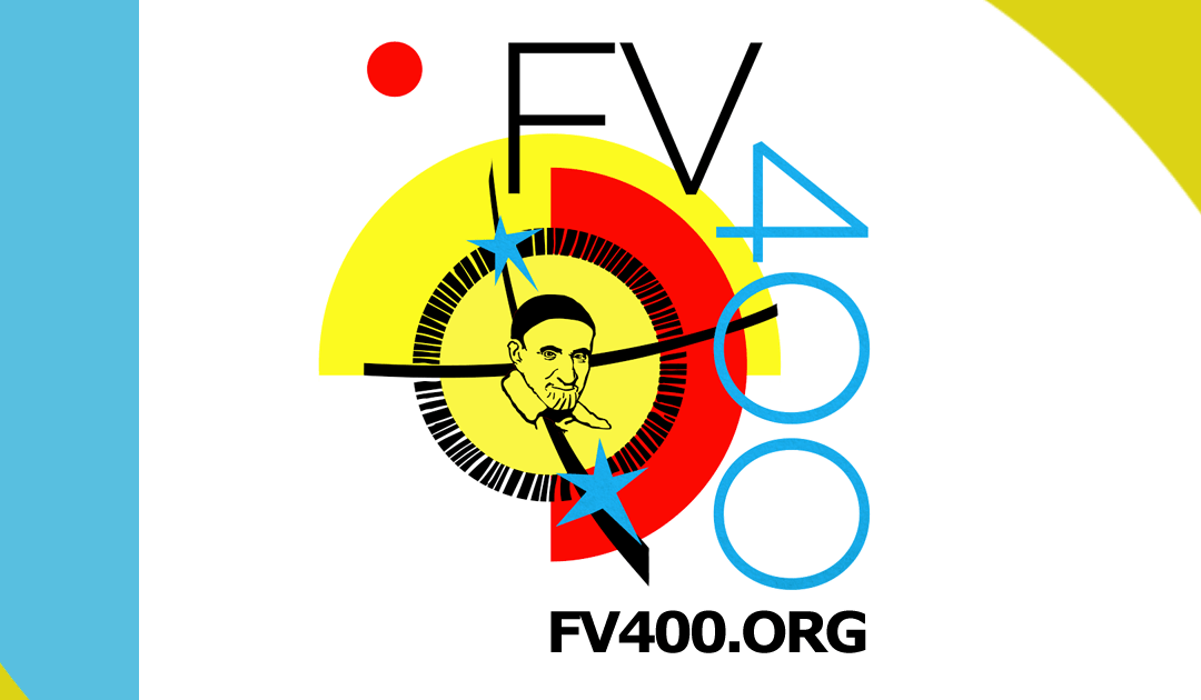 """Logo oraz informacje na temat Festiwalu i Konkursu """"Odnaleźć Wincentego 400"""""""