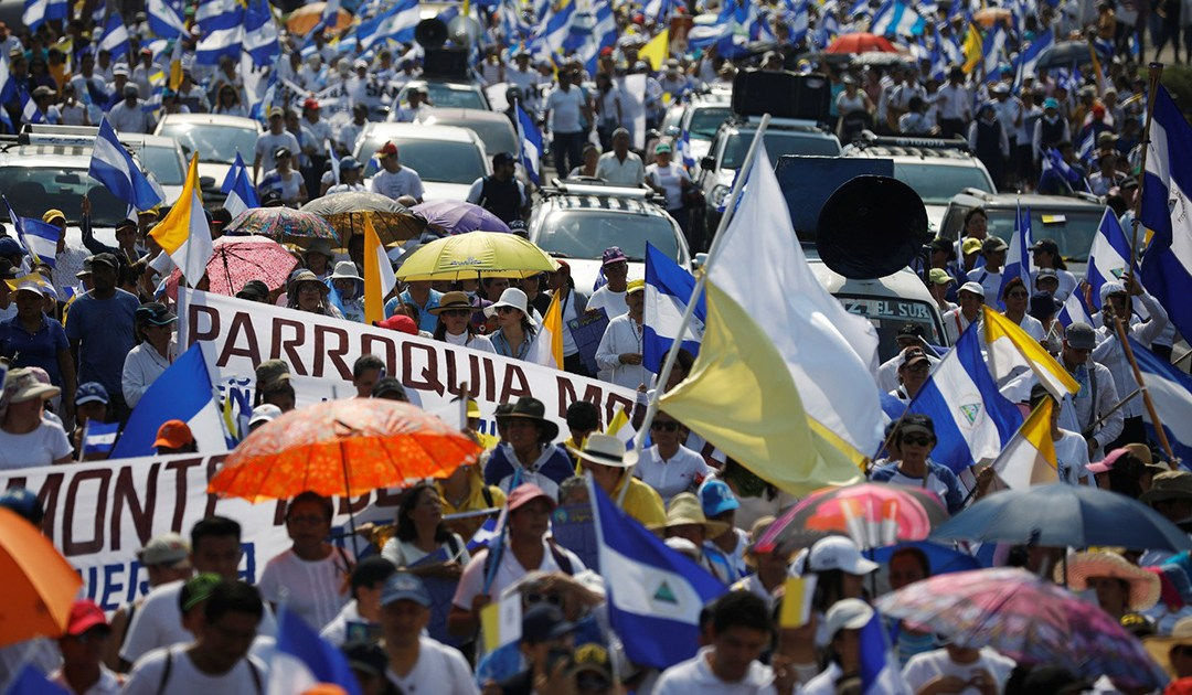 Międzynarodowa Rada Generalna SSVP domaga się narodowego dialogu i pilnego przywrócenia pokoju w Nikaragui