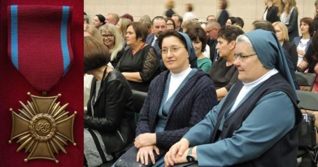 Brązowy Krzyż  Zasługi dla Siostry Miłosierdzia w Polsce