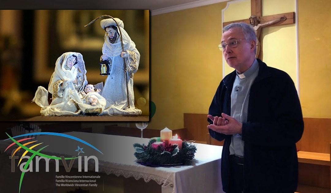 Przesłanie Ks. Tomaža Mavriča CM dla Rodziny Wincentyńskiej na Boże Narodzenie 2020