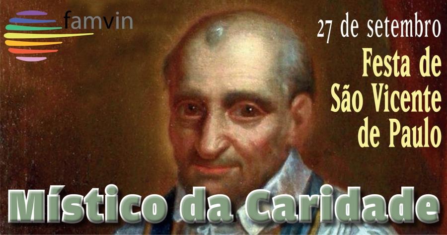 Mensagem do Superior Geral, P. Tomaž Mavrič, CM, para a festa de São Vicente de Paulo