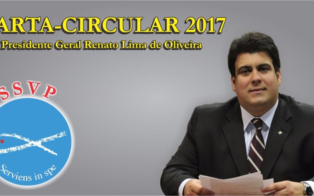 Presidente geral da SSVP divulga Carta Circular