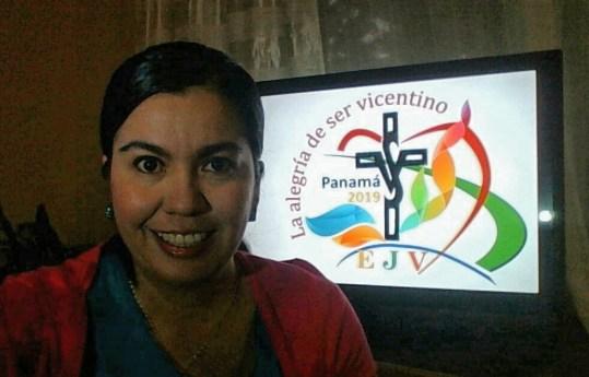 Criadora explica Logo do Encontro Internacional da Juventude Vicentina 2019