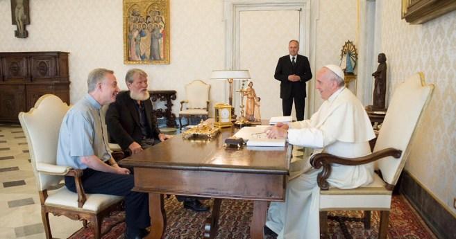 Audiência do Padre Pedro Opeka, C.M., com o Papa Francisco
