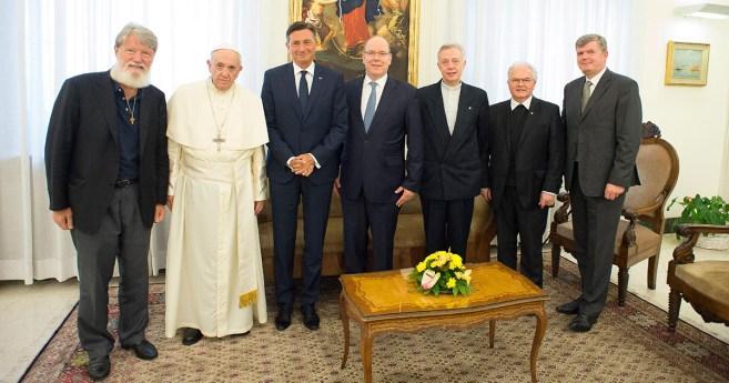 Papa Francisco recebe padre Opeka pela segunda vez