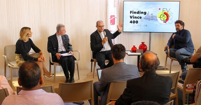 """Encontrando Vicente 400"" – Conferência de imprensa na Bienal de Veneza"