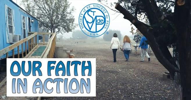 """""""Nossa fé em ação"""": uma novo filme da SSVP"""
