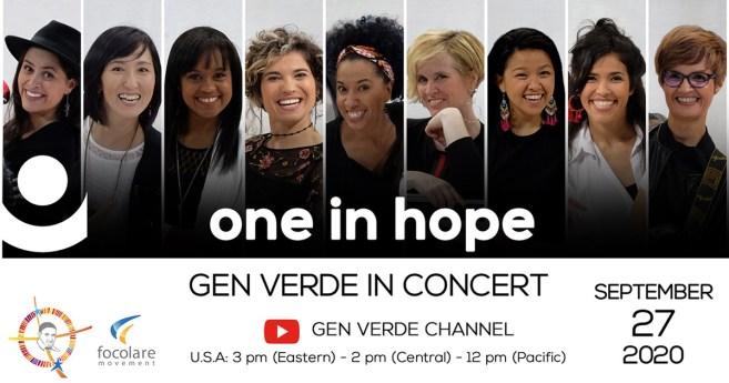Show do Gen Verde no domingo, 27 de setembro de 2020, em memória da figura de São Vicente de Paulo