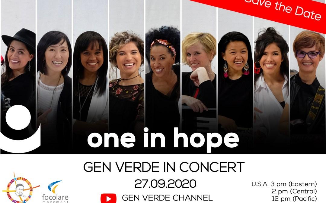 Reviver o concerto do grupo Gen Verde, na festa de São Vicente de Paulo