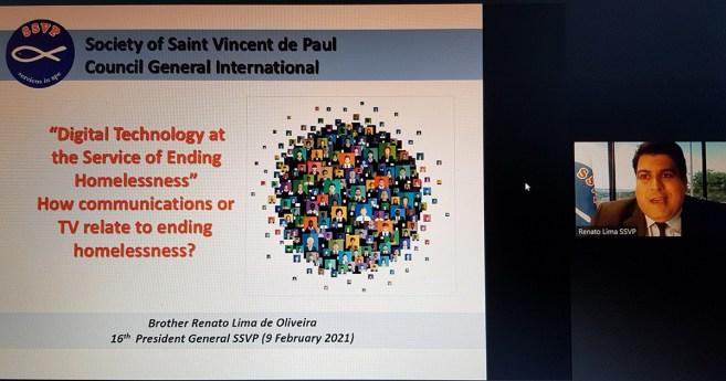 SSVP participa de painel sobre os sem-teto em evento nas Nações Unidas