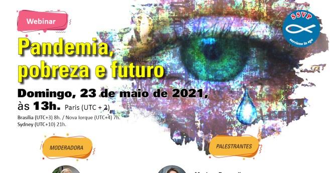 Conselho Geral da SSVP promove webinar sobre a pandemia e o futuro do trabalho vicentino