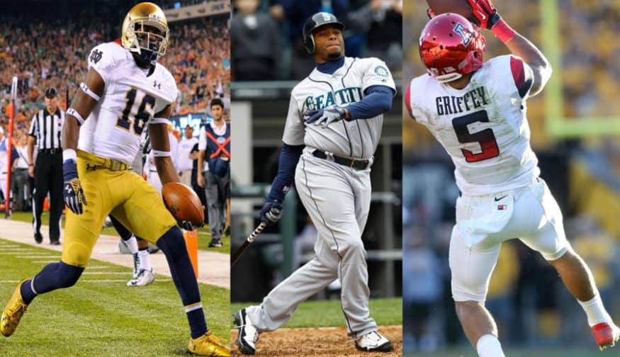 93ce8abc36 Major League Baseball stars who have sons playing college football