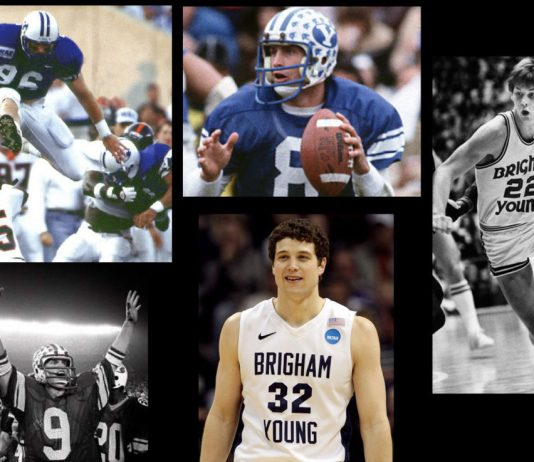 BYU Top 20 Pro Athletes