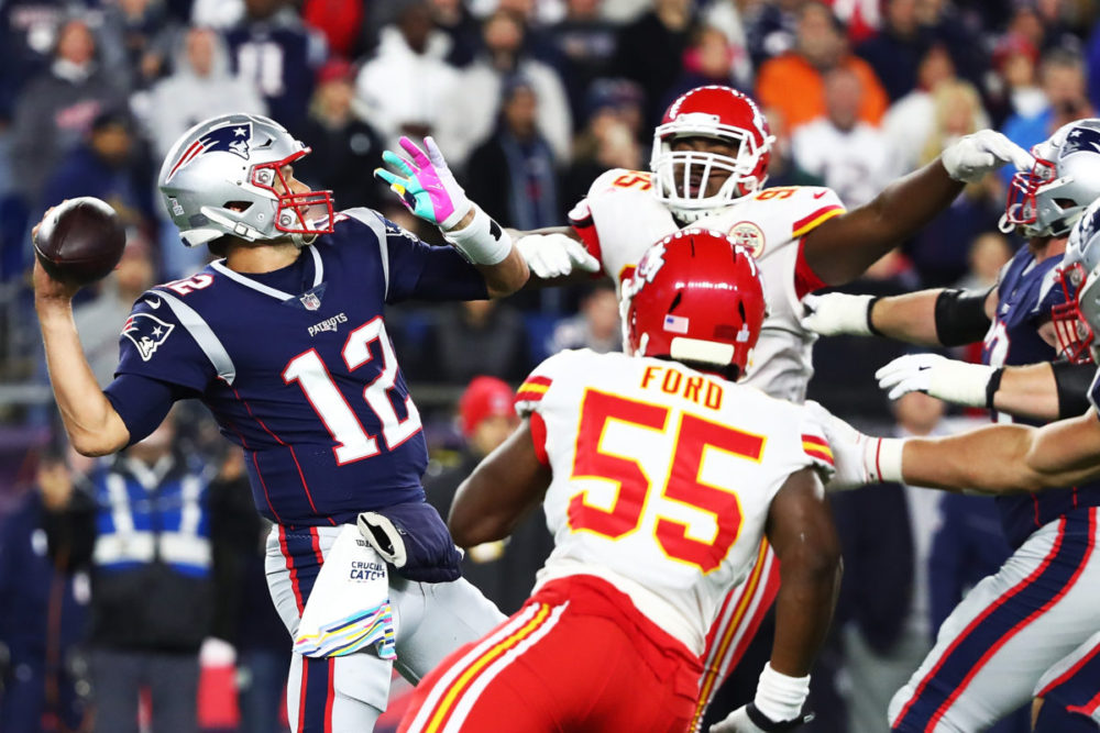 2019 AFC Playoffs: Chiefs-Patriots