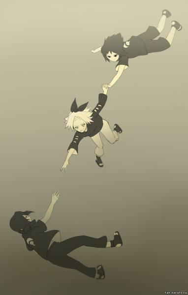 Сакура, Саске и Итачи - Все вместе - Картинки Наруто