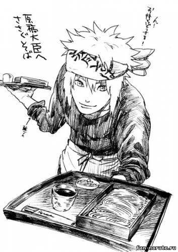 Минато - Рисунки - Картинки Наруто