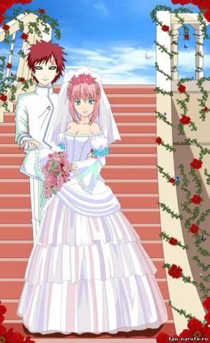 Свадьба Гаары и Сакуры - Гаара+Сакура - Пары - Картинки Наруто