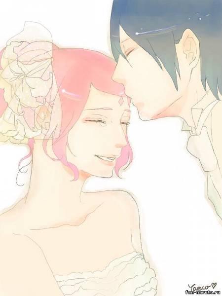 Саске и Сакура - свадьба - Саске+Сакура - Пары - Картинки ...
