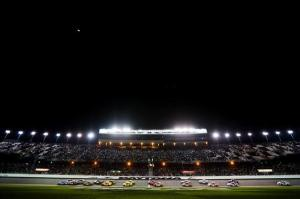 Drivers begin the NASCAR Sprint Cup Series Sprint Unlimited at Daytona International Speedway on Feb 16, 2013  Photo - Jerry Markland/Getty Images