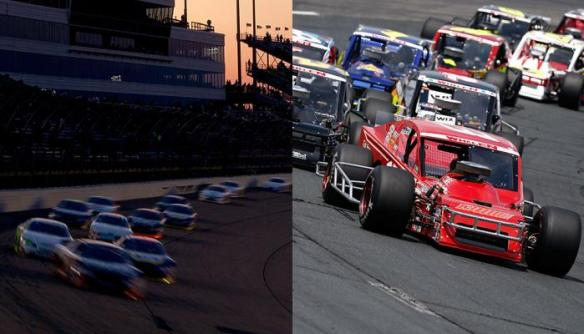 NBCSN will carry a combined 39 NASCAR Touring Series races in 2015 between the K&N Pro Series and Whelen Modified Tours  Photo - Getty Images