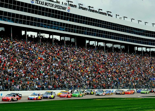 Throwback thursday texas motor speedway milestones and for Texas motor speedway 2015 schedule
