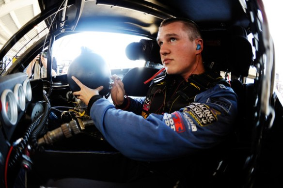 Ryan Preece at 9 pm ET on Monday, February 15, 2016 Photo - Jared C. Tilton/Getty Images