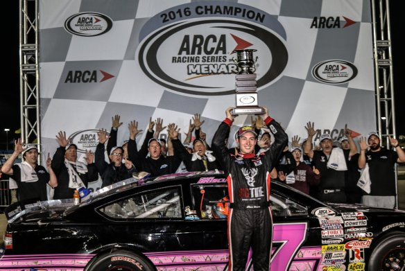 Chase Briscoe at 9 pm ET on Monday, October 17, 2016 Photo - ARS