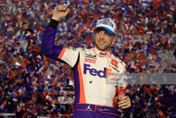 Denny Hamlin, Daytona 500 Winner at Daytona International Speedway
