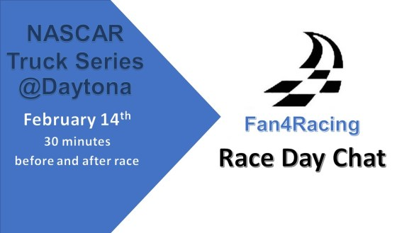 Fan4Racing Race Day Chat