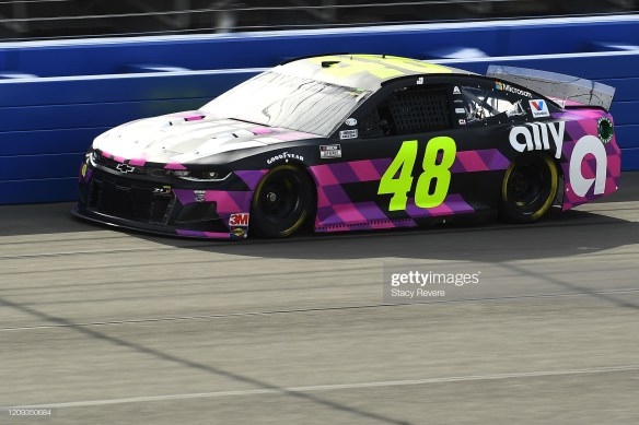 Jimmie Johnson in the No. 48 during the 2020 West Coast Swing
