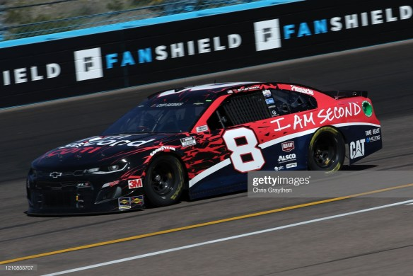 Tyler Reddick in the No. 8 for Richard Childress Racing at Phoenix Raceway on March 6, 2020