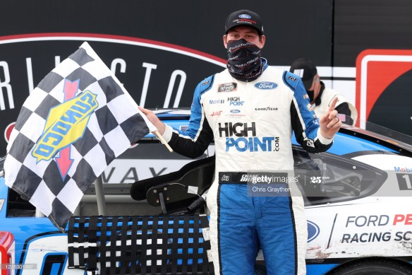 Chase Briscoe Rides Emotions to a Thrilling Win at Darlington