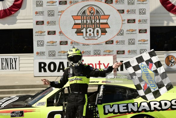 Austin Cindric wins again in the NASCAR Xfinity Series Henry 180 on Saturday at Road America for the fourth victory in his last five starts.