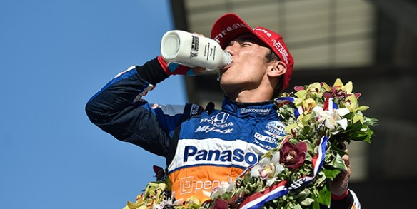 Takuma Sato earns second Indianapolis 500 victory in the NTT IndyCar Series on Sunday afternoon, August 23, 2020 at Indianapolis Motor Speedway.