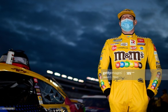 Is Kyle Busch really on the ropes when he states that he'll be eliminated in the next NASCAR Cup Series Playoffs Round of 12?