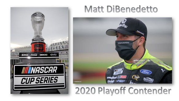 Matt DiBenedetto is set to make his first NASCAR Cup Series playoff appearance at Darlington Raceway on Sunday, September 6th.