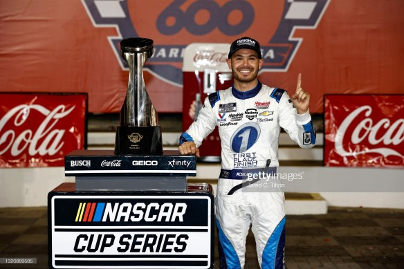 Kyle Larson delivers a dominate win at Charlotte Motor Speedway in the NASCAR Cup Series Coca Cola 600 on Sunday evening.
