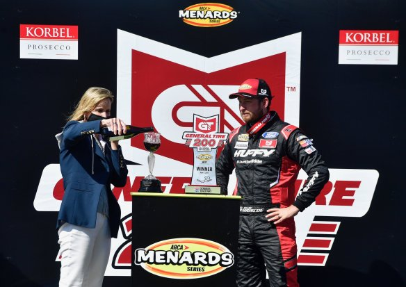 Chase Briscoe dominates at Sonoma Raceway for a victory, his first in the ARCA West Series, in the General Tire 200 on Saturday afternoon.