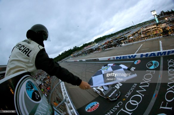 Aric Almirola stuns the field in clutch win at New Hampshire Motor Speedway in the NASCAR Cup Series Foxwoods Resort Casino 301 on Sunday.