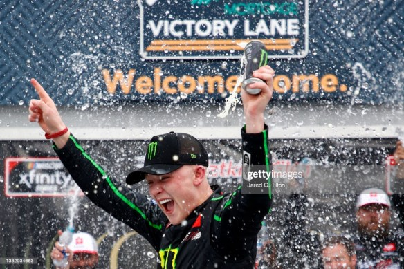 Phenom Ty Gibbs continues to impress with his third Xfinity Series win in ten races in the Skrewball Peanut Butter Whiskey 200 at Watkins Glen International.