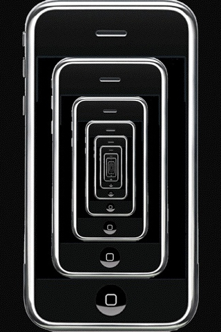 Not An Illusion Strictly Speaking But Certainly A Freaky Design IPhones Stretching On Into Infinity Always Out Of Touch This Is What Carnival Halls