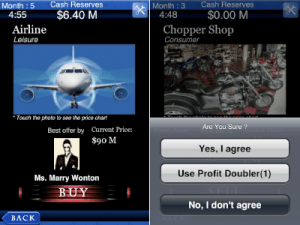 a business tycon iphone app