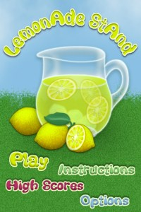 lemonoade stand iphone app review