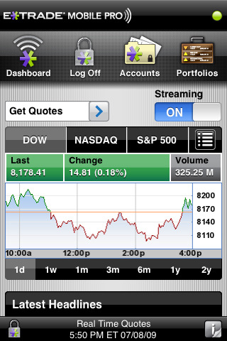 etrade mobile pro iphone app review