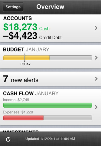 mint iphone app review
