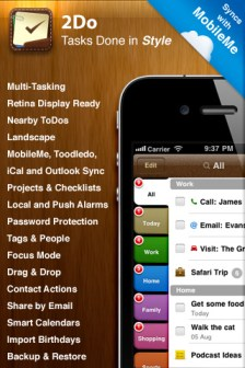 2do iphone app review