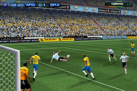 real soccer iphone app review