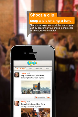 Clingle iPhone App Review