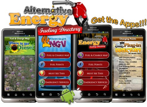Iconosys Alternative Fuel Apps