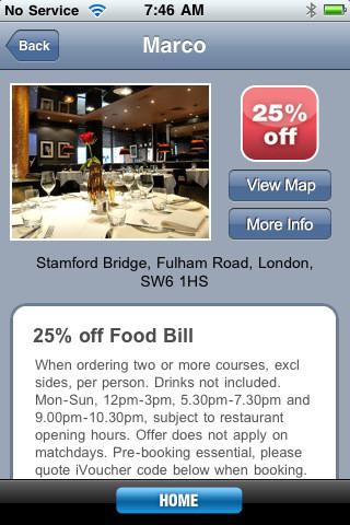 London Vouchers iPhone App Review